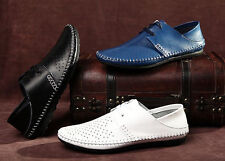 NEW Men'scasual Moccasins comfy breathable Driving leather Dress Shoes