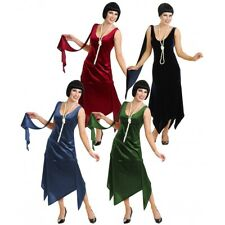 Roaring 20s Costumes Adult Classic Flapper Dress Halloween Fancy Dress