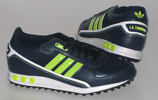 Adidas Mens Shoes La Trainer Ii Dark Blue Trainers New
