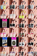 24 pcs 3D Design False Nails Art Tips Fake Nail with Glue Great for Party B8828