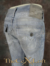 NWT Mens TRUE RELIGION Jeans RICKY Light Blue Foster City Wash M24859OLW0