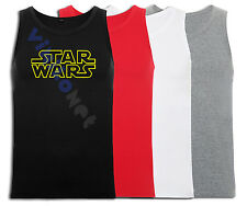 Camiseta Star Wars Tirantes XXL- XL L M S Sizes DVD Comic Film Imperio 1 T-Shirt