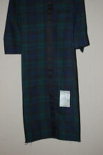 NEW Retro Vintage Tartan Plaid Vintage Green Black Blue Tuxedo Tux Trousers 1972