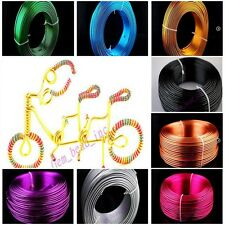 1mm 1.5mm 2mm Aluminum Wire Jewelry Making Craft Wrap 2Meter 15Color New