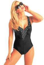Its Not A Miracle, It's a Carol Wior SLIMSUIT!! V Wire 10-0138CB