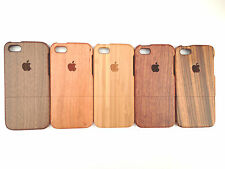 LUXURY CARVED HARD WOODEN PROTECTOR CASE REAL SOLID WOOD COVER APPLE IPHONE 5/5S