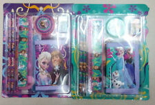 Lot Frozen students pencil Stationery set School supplies Christmas Gifts Q22
