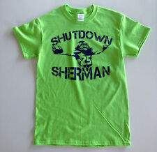 Richard Sherman Seahawks T Shirt Tee Seattle #25 NFL Superbowl Legin Of Boom