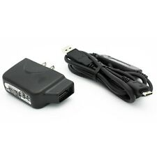 OEM TRAVEL HOME WALL CHARGER AC POWER ADAPTER WITH USB DATA CABLE CHARGING WIRE