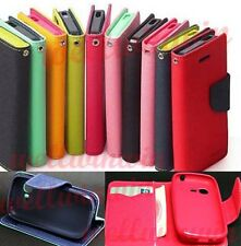 Deluxe Wallet Leather Flip Stand Case Cover For Samsung Galaxy Pocket Neo S5310