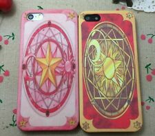 Card Captor Sakura Clow Card Cover Case For iPhone 4 4S 5 5S 6 New Free Ship