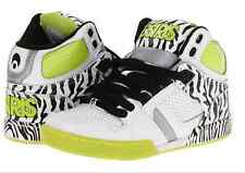 OSIRIS ® NYC 83 WHITE BLACK LIME YOUTH HIGH TOP SNEAKERS ORIGINAL & NEW IN BOX