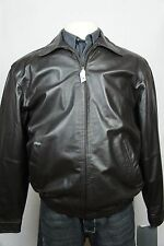Orig $650 NEW Brown JOS A BANK Jos. A. Bank LEATHER JACKET Coat LINED US S-XXL