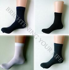 New Fashion Men Soft Bamboo Fiber Antibacterial Men's Socks 5 Colors