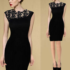 Applied Sexy Lady Lace Stretch Clubwear Cocktail Evening Party Bodycon Dress