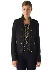 NWT White House Black Market Military Zip Jacket 570094376 Size 2, 4 $148.00