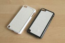 5 Black or 5 White Dye Sublimation Cases + Inserts for Apple iPod Touch 5TH Gen