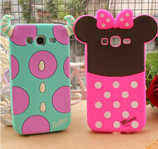 Cartoon 3D Cute Monsters Soft Rubber Silicone Skin Case Cover For Mobile Phones