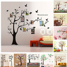 Hot Monkey Owl Tree Animals Wall Stickers Decal Art Mural for Kids Nursery Decor