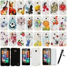 Nokia Lumia 635 Rubberized Plastic Snap On Phone Protector Case Cover Skin