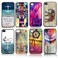 Painted Various Pattern Phone Hard Back Skin Case Cover for Apple IPhone 4 4S