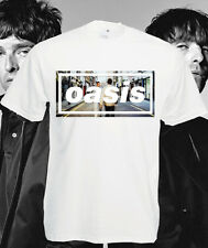 Oasis T Shirt Definitely Maybe Band Top Tee Liam Noel Gallagher Morning Glory