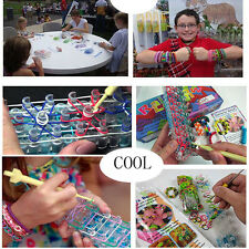 Hot Fashion Replace Rainbow Loom Clips Colorful Transparency Bracelet Making