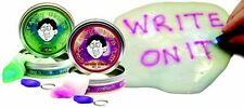 Crazy Aaron's Thinking Putty, PHANTOMS, Choose Colour, 10cm Tin, UV Torch In Tin