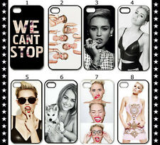 Sexy fashion Miley Cyrus Hard Plastic Back Cover Case Fit For iPhone 4 4S 5 5S
