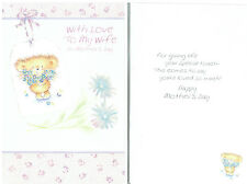 QUALITY HAPPY MOTHERS DAY TO MY WIFE PARTNER GREETINGS CARD CARDS