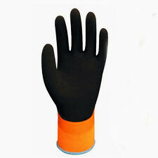 Double Layer Latex Water-proof Wonder Grip Gloves Cold-proof Winter Protection