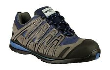 Women Amblers Composite Work Boots Safety Grey Blue Lightweight Trainers Fab873