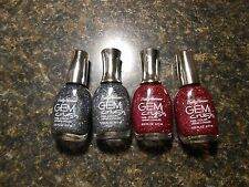 Assorted Sally Hansen Gem Crush glitter Nail Color polish-Choose your shade NEW!