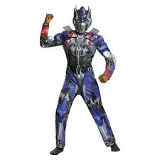 Boy's Transformers: Optimus Prime Reflective Muscle Costume