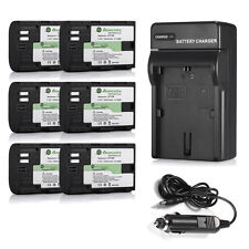 LP-E6 Battery and Charger For Canon EOS 5D Mark II III 2 3 7D 70D 6D 60D BG-E6