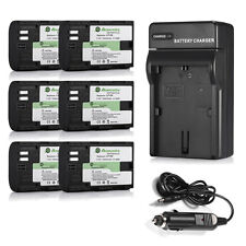 LP-E6 LPE6 Battery Pack + Charger For Canon EOS 7D 70D 6D 60D 5D Mark II III 2 3