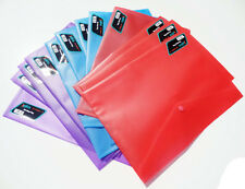 1 x A4 PLASTIC DOCUMENT WALLET FOLDERS  POPPERS ENVELOPES, buy more and save £££