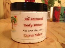 100% All Natural Body Butter-Give your skin some TLC! -Tropical Kiss