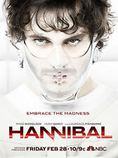 Hannibal Giant Poster - A0 A1 A2 A3 A4 Sizes
