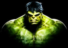 The incredible hulk Poster géant-A0 A1 A2 A3 A4 Tailles