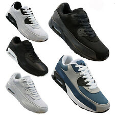 MENS RUNNING TRAINERS CASUAL LACE UP RUNNING GYM WALKING BOYS SPORTS SHOES SIZE