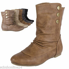 NEU Stiefel Stiefelette  Wedge Ankle Chelsea Boots Damenschuhe MQ1278