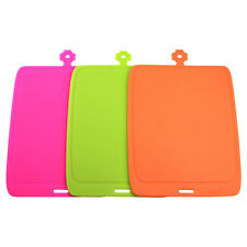 SBC Flexible Kitchen Chopping Mats Cutting Boards Silicone 100% Antibacterial