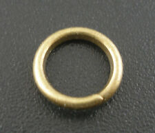 Wholesale Lots Bronze Tone Open Jump Rings 8x1.2mm