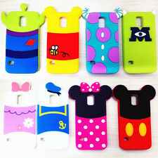 3D Cartoon cell Phone Case For Galaxy S3/S4/S5/Note2/3 Shadow Disney back cover