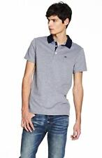New Armani Exchange AX Mens Slim Muscle Fit Contrast Collar Polo Shirt e6m279po