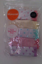 BNWT ~ GIRLS BLUEZOO ~ 5 PACK OF KNICKERS ~ IN SIZES 2-3 & 3-4 YEARS