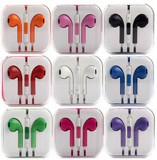 Earbuds Earphone Headset w/ Remote Mic For Apple iPhone 5 5C 5S 4S 4 iPod Touch