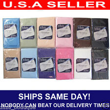 1 PC STANDARD MICROFIBER LUXURY PILLOW CASE COVER, VARIOUS COLORS