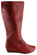 ORIZONTE PETRA WOMENS/LADIES LEATHER BOOTS/KNEE HIGH/SHOES/WEDGES CLEARANCE/SALE
